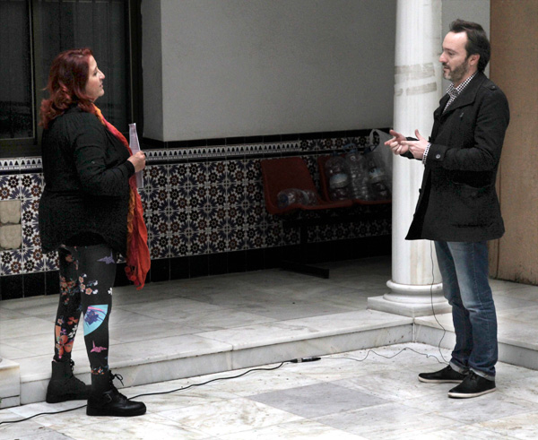 En enero de 2014 me hicieron una entrevista para el programa Solidarios de Canal Sur por mi colaboración en el proyecto Artistas Acoge organizado por la asociación Málaga Acoge.