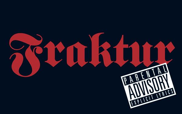 Heavys, raperos y góticos, grandes defensores de la Fraktur